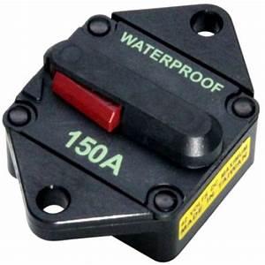 Find Panel Mount Waterproof High Amp Circuit Breaker