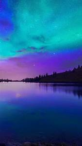 Beautiful purple-blue night scenery. Calm your mood with ...
