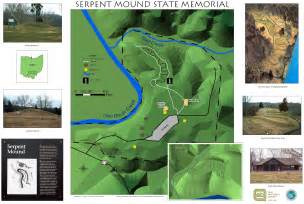 Great Serpent Mound Map