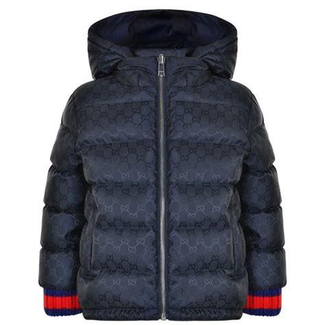 gucci children boys monogram jacket