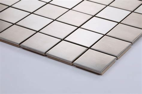 Bathroom Wall Tile Sheets by Stainless Steel Mosaic Tiles Sheets Bathroom Kitchen