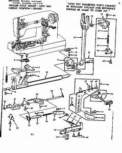 Kenmore 15815510 Mechanical Sewing Machine Parts