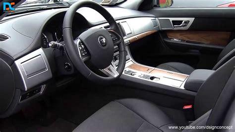 jaguar xf exterior  interior design youtube