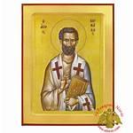 Orthodox Byzantine Nioras Barnabas Icon Apostle Wooden