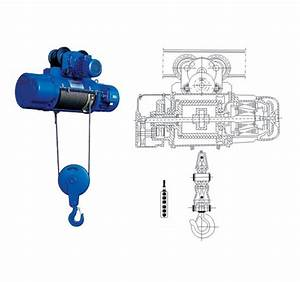 Factory Price 30m Wire Rope Demag Electric Hoist 20 Ton