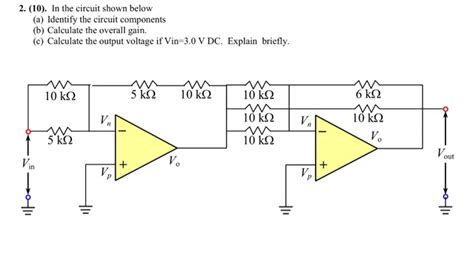 Solved The Circuit Shown Below Identify