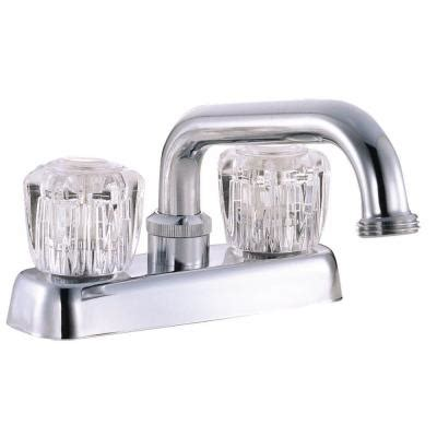 design house 2 handle laundry faucet in polished chrome