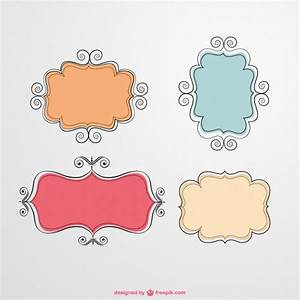 Calligraphic frames Vector | Free Download