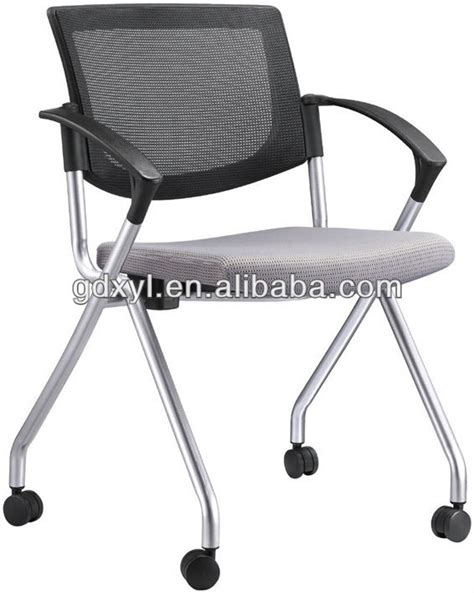foldable classroom chair with tablets and wheels buy