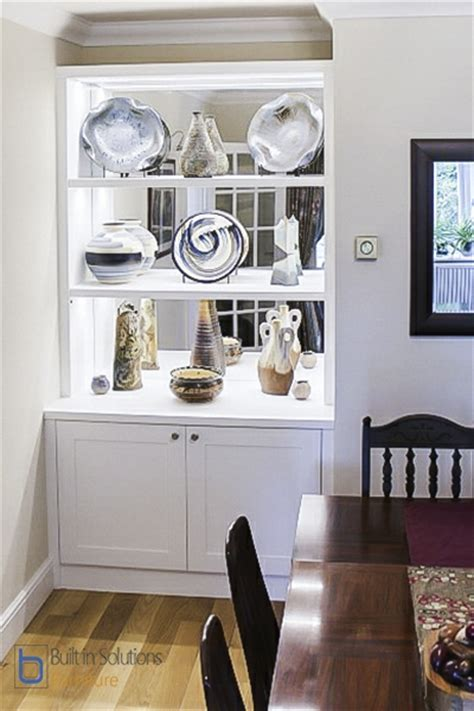 Built in Alcove cupboards storage for your living room