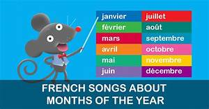 The Months Of The Year  French Whistlefritz