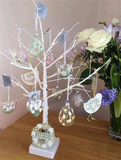 easter tree  beautiful eater decoration