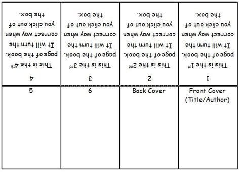 How To Create A Book Template In Word by Mini Book Template Microsoft Word Search 3rd