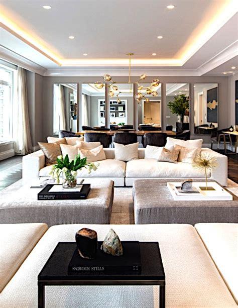 contemporary home decor interior marketing park avenue living room for