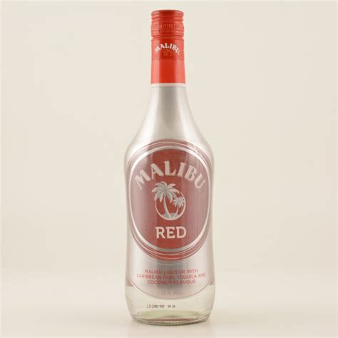 Malibu Red Likör Tequila (rum Basis) 35% 0,7l, 11,90