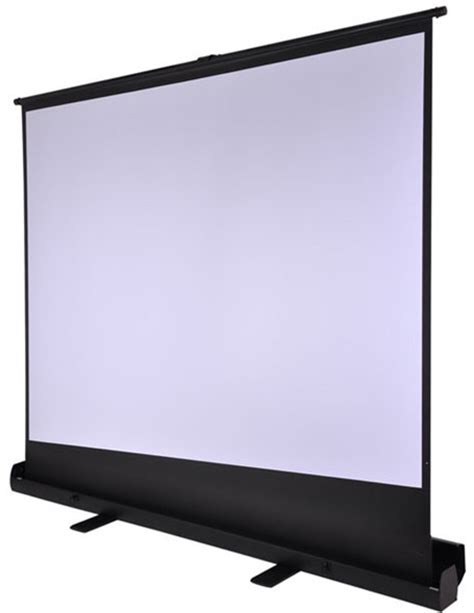 roll projector screen 100 inch portable easy roll up floor standing projector 4173