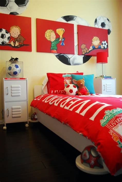 Soccer Themed Bedroom Photography by Soccer Bedroom Ideas