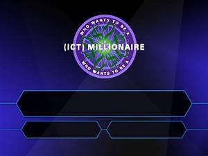 resource building mark james hardisty With who wants to be a millionaire blank template powerpoint