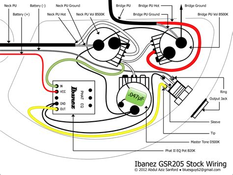 Gear Blog Ibanez Gsr Stock Wiring