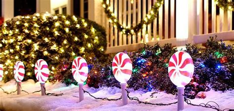 ideas  large outdoor christmas decorations
