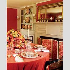Red Rooms  Martha Stewart