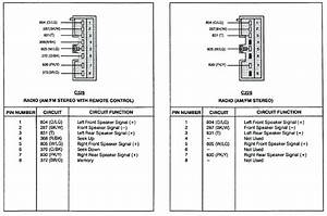 Ford Radio Wiring Diagram 93 F 150 Stereo Harness Diagrams