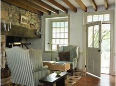 Shaker Simplicity in a Stone House Restoration & Design