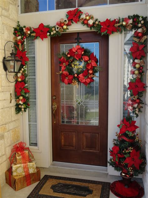 Our Home Away From Home Front Door Christmas Decor