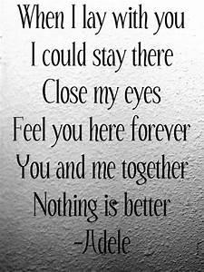 adele, love, lyrics, quotes - image #348909 on Favim.com