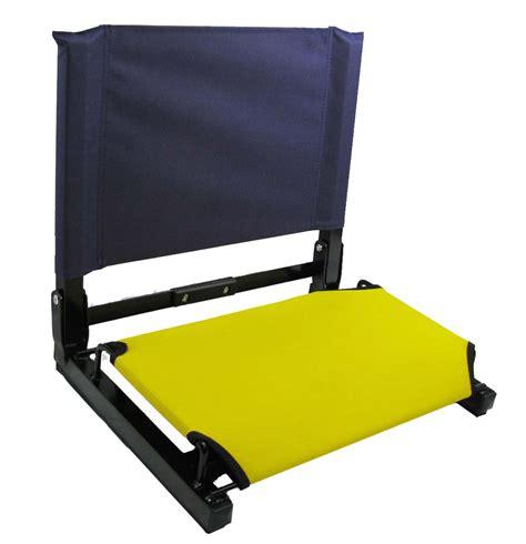 patented stadium chair bleacher seat ebay