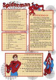 images  spiderman superhero worksheets