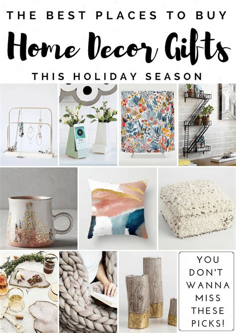 home decor gifts home decor gift guide best places to shop for home decor