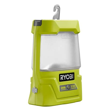 Cordless Lighting by Ryobi 18 Volt One Cordless Area Light With Usb Charger