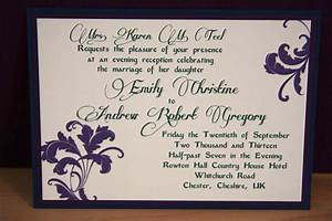 flowery wedding reception invitations criolla brithday With examples of wedding reception cards wording