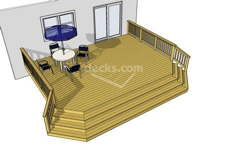 sizes   deck plans style  choose  clipped