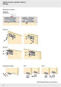 montage de porte coulissante montage porte coulissant sur enperdresonlapin