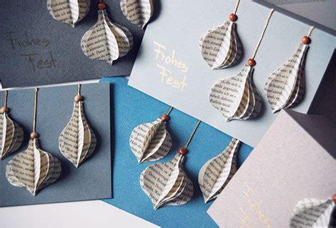 Weihnachtskarten Selber Basteln Aus Tonkarton Und Alten
