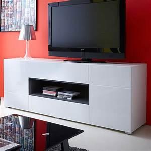 Tv Sideboard Weiß : lowboard pablo sideboard tv media m bel in hochglanz wei graphit ebay ~ Markanthonyermac.com Haus und Dekorationen