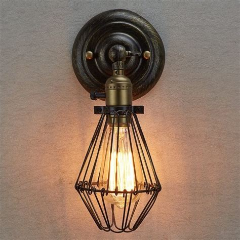 wall light cage 50 uniquely modern wall sconces that also serve as