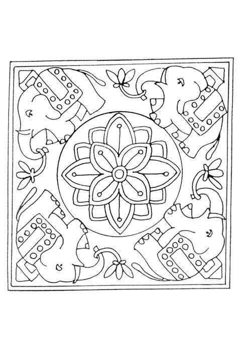 Mandala Kleurplaten Olifant by Olifanten Mandala