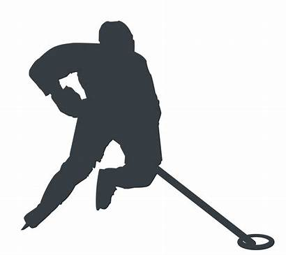 Ringette Silhouette Athlete Dots Injuries Common
