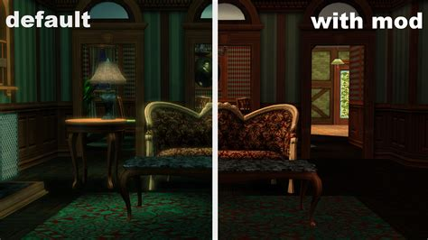 Sims 3 Lighting Mod by Mod The Sims No Moon Lighting Effect