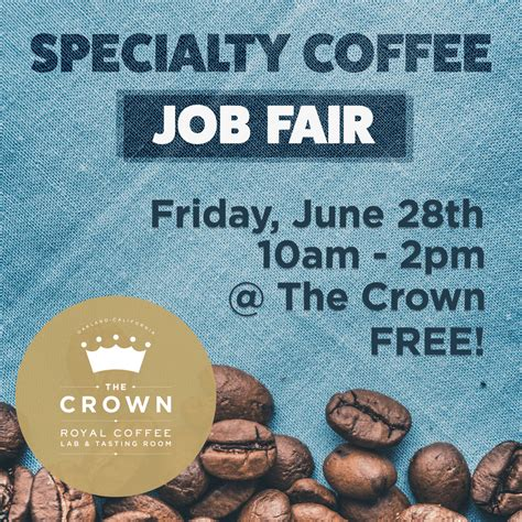Many industry professionals i've spoken with describe their own career navigation as part opportunity, part. June 28: Specialty Coffee Job Fair - Bay Area Coffee Community