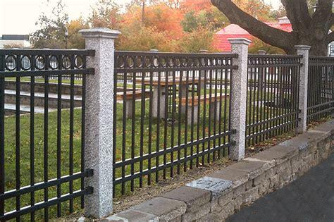 granite fence post gallery westwood mills