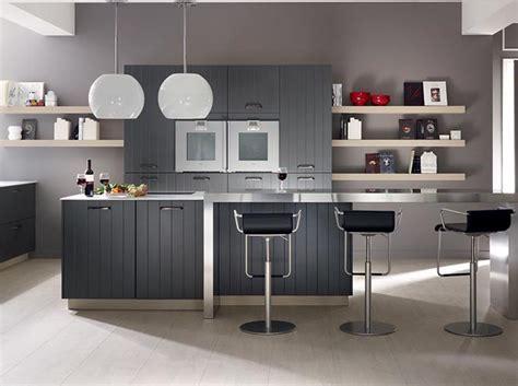 cuisine contemporaine grise craquez pour une cuisine grise décoration