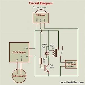 Motion Sensor Circuit Diagram For Lighting Decoratingspecial