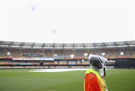 Unrelenting rain threatened to wash out the Australia ...