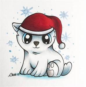 Christmas Polar Bear Drawing - Warrior989 © 2017 - Nov 22 ...