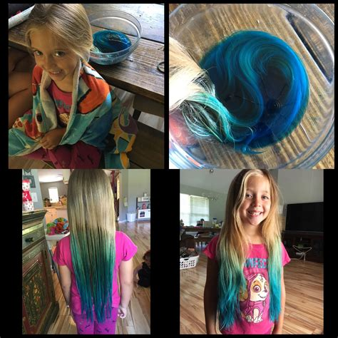 Kool Aid Hair Dye Boil 2 Cups Of Water And 4 Packets Of