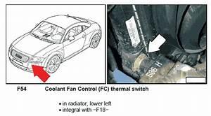 Audi Tt Fan Control Module Location